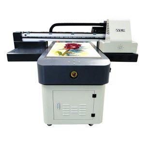 a1 uv dx8 flatbed printer dengan pernis