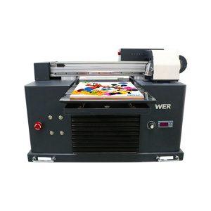 Spesifikasi Penggunaan: Tipe Pelat Printer Kartu: Printer Flatbed Kondisi: Dimensi Baru (L * W * H): 65 * 47 * 43 CM Berat: 62kg Kelas Otomatis: Tegangan Otomatis: AC220 / 110V Garansi: 1 Tahun Cetak Dimensi: 16.5x30 CM , A4 UKURAN Jenis Tinta: Nama produk tinta UV LED: Printer Kecil Ukuran A4 Mesin Digital Printing Tinta Printer UV Flatbed: Tinta UV LED Cetak Tinggi: 0-50mm Sistem tinta: sistem CISS Warna tinta: CMYKWW Jumlah Nosel: 90 * 6 = 540 Perangkat lunak cetak: SISTEM WINDOWS KECUALI MENANG 8 Tegangan :: AC220 / 110V Daya Kotor: 30W