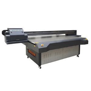 2.5m * 1.3m definisi tinggi ricoh gen 5 digital uv flatbed glass printer