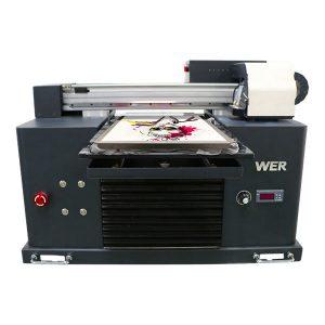 Delapan warna harga murah 3d digital dtg printer t-shirt untuk pakaian, tekstil flatbed printer dijual