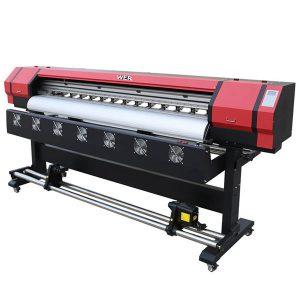 mesin cetak kanvas printer inkjet DX5 untuk dijual.