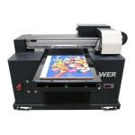 a2 a3 pencetakan inkjet digital format besar uv flatbed printer