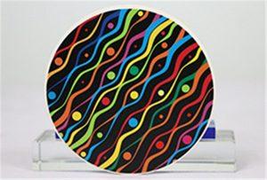 Sampel pencetakan keramik dari Rioch head uv WER-G2513UV