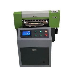 Terbaik Jual T-shirt Tekstil Flatbed Printer Acrylic Printer Garmen Mesin Cetak Flatbed