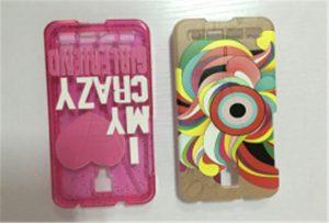 Sampel case ponsel oleh A2 UV WER-D4880UV