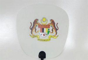 Sampel Kipas Plastik dicetak oleh printer A1 ukuran uv 6090UV