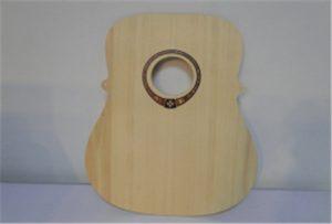 Sampel gitar kayu dari printer uv ukuran A2 WER-DD4290UV